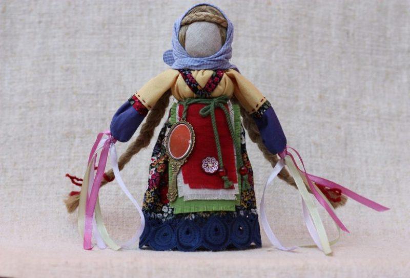 Славянская кукла заговоренная
