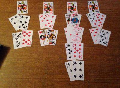 Гадание на игральных картах фото