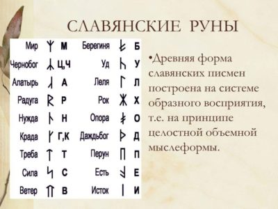 Гадание на славянских (вендских) рунах